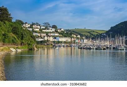 Kingswear Opposite Dartmouth on the Dart Estuary, Devon, United Kingdom