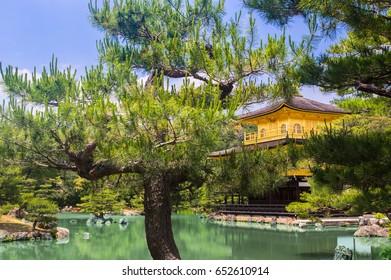 Kinkakuji (Golden Pavilion), History temple in Japan - Shutterstock ID 652610914