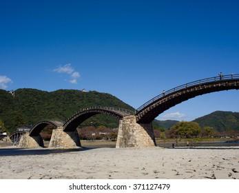 Kintai Kyo Bridge in Iwakuni, Hiroshima, Japan