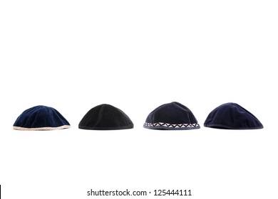 A kipa is a small hat worn by Jewish.