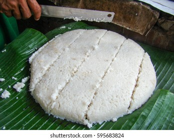 Kiribath, The milk rice is a traditional Sri Lankan food made from rice and coconut milk