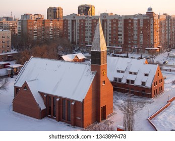Kirk Lutheran Church in Omsk.  Evangelical Lutheran Church of the Urals, Siberia and the Far East