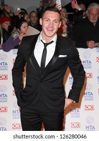 Kirk Norcross  arriving for the National Television Awards 2013, at the O2 Arena, London. 23/01/2013 Picture by: Alexandra Glen