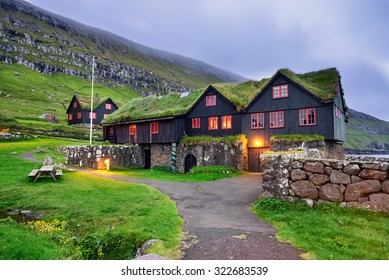 Kirkjuboargardur,  also called Roykstovan, is a historic farm and museum in Kirkjubour, Faroe Islands. Built in the 11th century it is one of the oldest still inhabited wooden houses of the world.