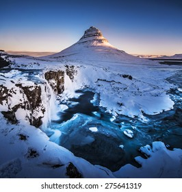Kirkjufell, Mountain, Iceland