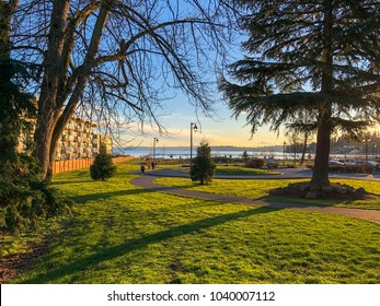 KIRKLAND, WASHINGTON, USA - MARCH 5, 2018: Juanita Beach Park