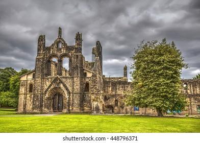 Kirkstall Abbey, Leeds, United Kingdom.