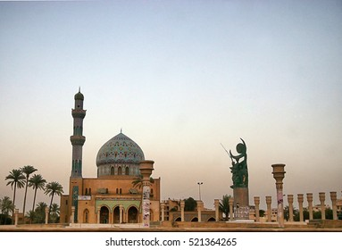 Kirkuk,Iraq - December August 29,2005 : Firdaus square Baghdad