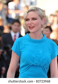 Kirsten Dunst at the closing Awards Gala at the 63rd Festival de Cannes. May 23, 2010  Cannes, France Picture: Paul Smith / Featureflash