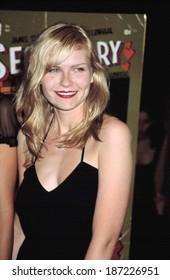 Kirsten Dunst at premiere of SECRETARY, NY 9/18/2002