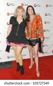 Kirsten Vangsness and Paget Brewster at the CBS New Season Premiere Party. MyHouse, Hollywood, CA. 09-16-09