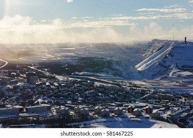 Kiruna City and Kiruna Iron Mine