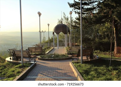 Kislovodsk, mountains, observation deck