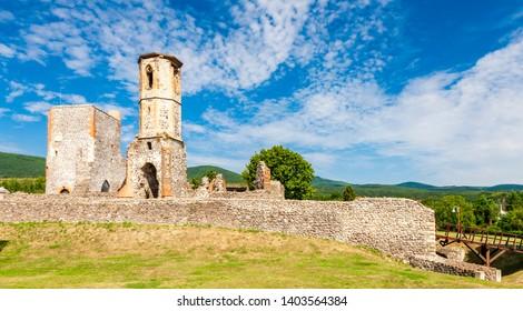 Kisnana Castle near Eger, Hungary