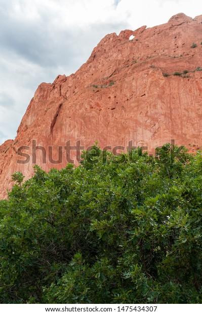 Kissing Camels Rock Formation Garden Gods Stock Photo Edit