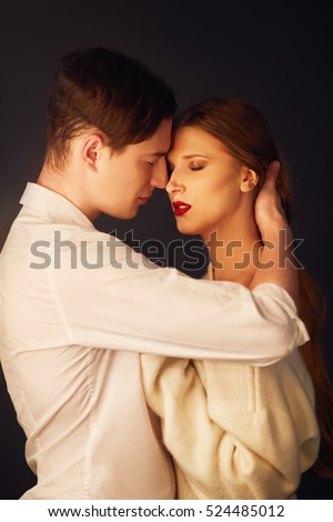 Properties Hot and sexy kissing