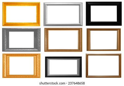 The kit includes frame isolated on white background.