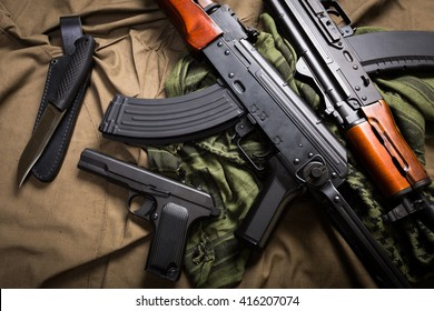 Kit of moder Russia military equipment