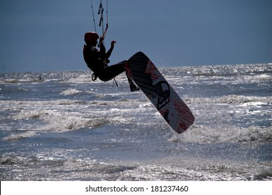 Kit Surfer in St. Peter-Ording