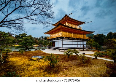Kitayama-dai(the golden pavilion) is a zen buddhisst temple in Kyoto,Japan