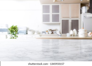 Kitchen background material, marble