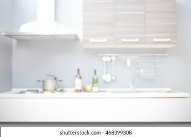 Kitchen blur background