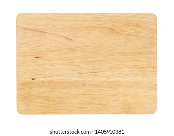 Kitchen board isolated on white background