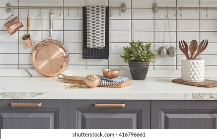Copper Kitchen Utensils Images Stock Photos Vectors Shutterstock
