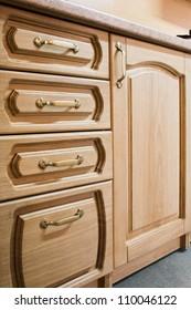 kitchen carved oak furniture