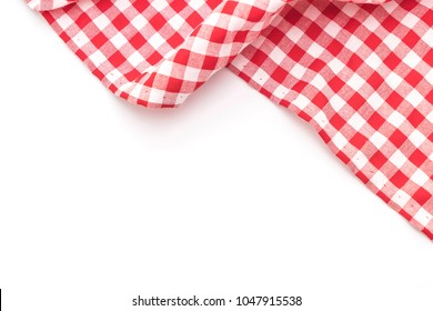 kitchen cloth (napkin) isolated on white background