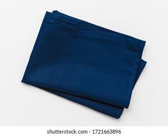 kitchen cloth (napkin) isolated on white background