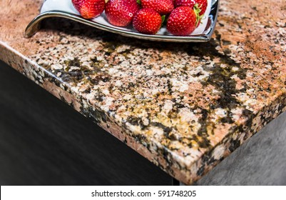 Kitchen countertops granite, marble, and quartz made of stone slabs