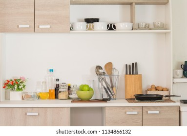 In the kitchen, food and cooking