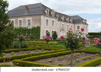 Kitchen garden in  Chateau de Villandry. Loire Valley, France  - Shutterstock ID 179092727
