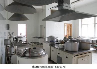 kitchen in hospital