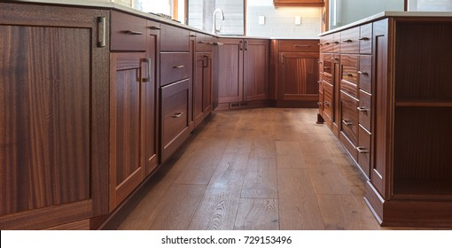 Kitchen inside a House