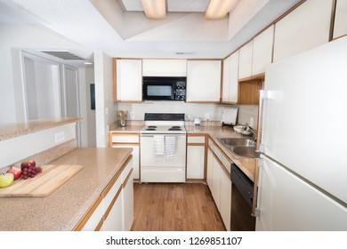 Kitchen Interior in Apartment