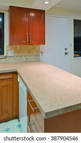 Kitchen interior design.