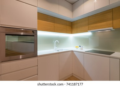Kitchen interior, modern design