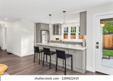 Kitchen Interior in New  Home