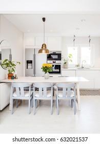 kitchen interior Scandinavian design