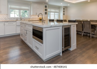 Kitchen Island Details