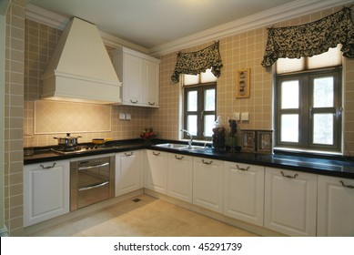 A kitchen in modern European style.
