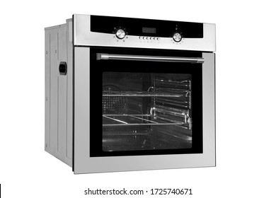Kitchen oven on white background