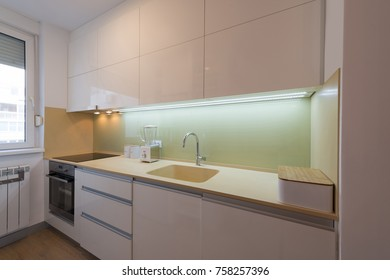 Kitchen room interior