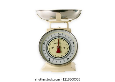Kitchen Scale isolated on white background