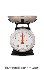 Kitchen Scales isolated on white