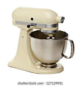Kitchen Stand Mixer With Clipping Path