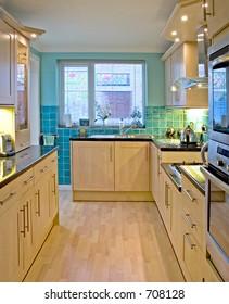 Kitchen in UK luxury home 1