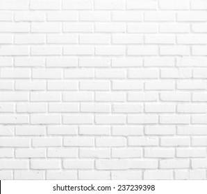 Kitchen wallpaper concept: Abstract vertical modern square white brick tile wall texture background.